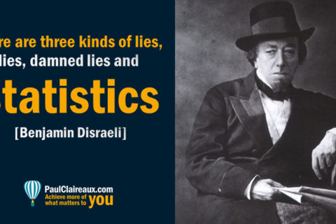 Three kinds of lies, Disraeli