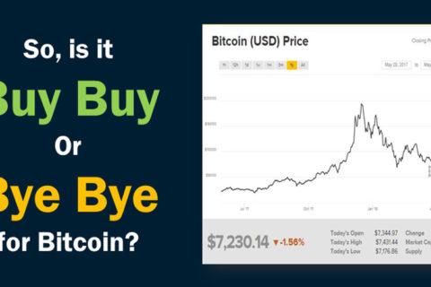 Bye Bye Bitcoin
