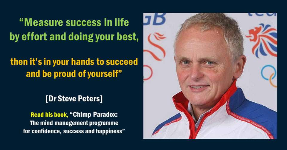 Steve Peters on effort and success