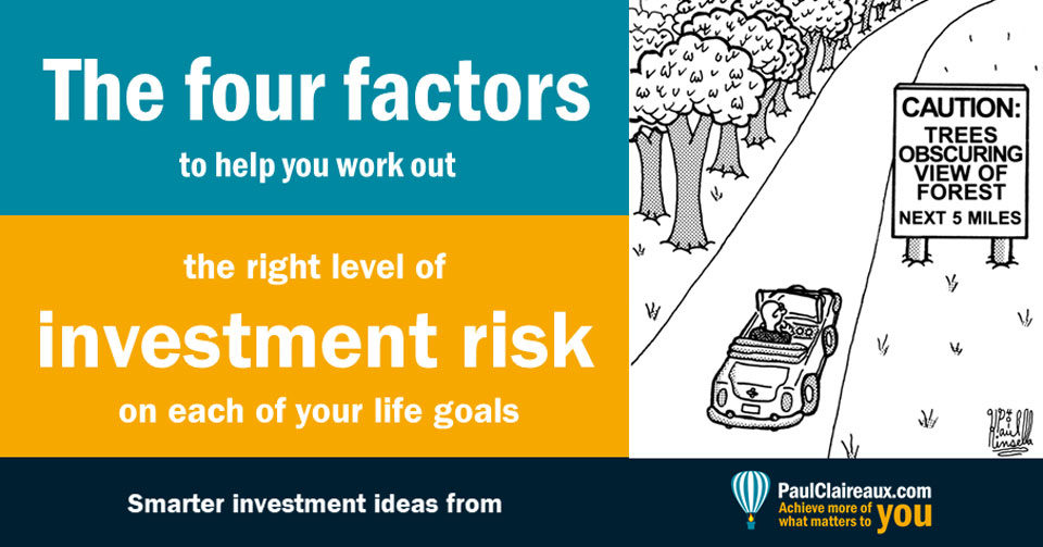 Four factors for risk