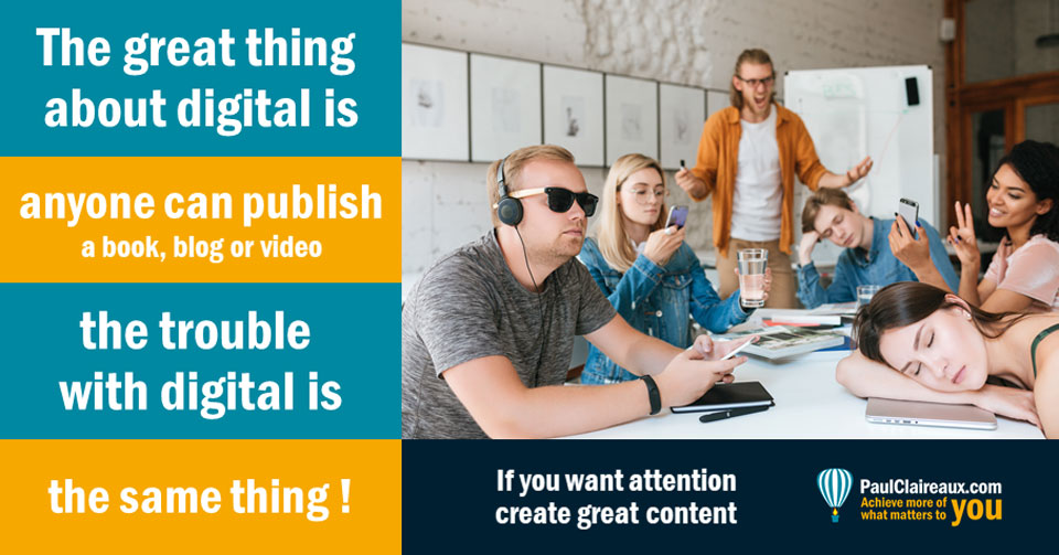 Anyone can publish