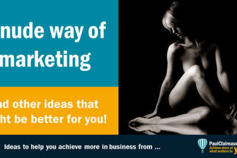 Nude way of marketing
