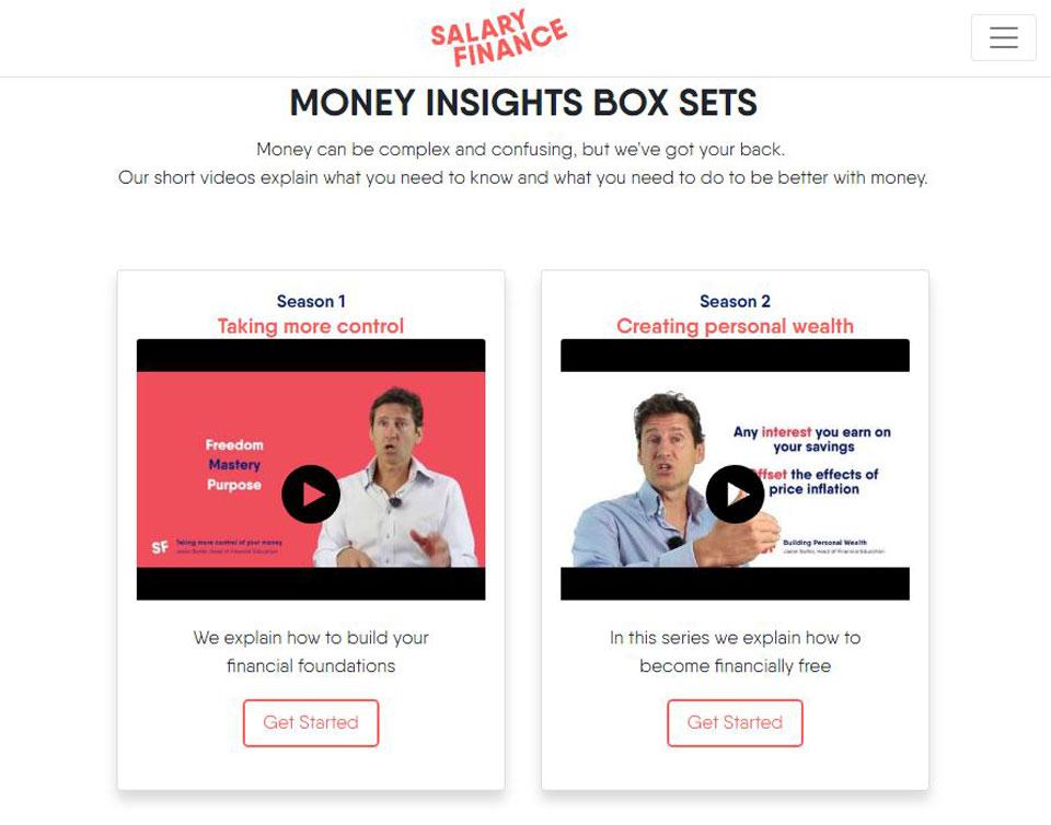 Salary Finance Box Sets