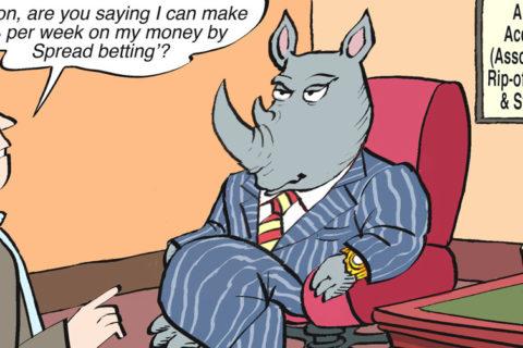 Spread Betting cartoon 1